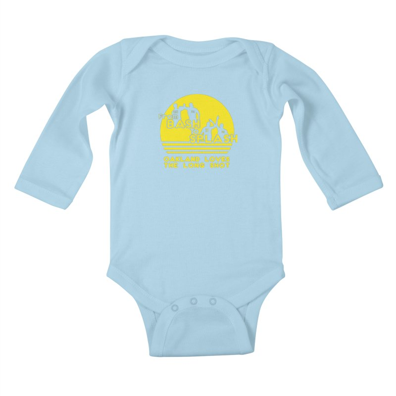 Bash 2 Splash Kids Baby Longsleeve Bodysuit by Mike Hampton's T-Shirt Shop