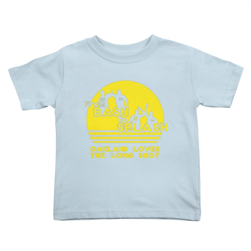 Bash 2 Splash Kids Toddler T-Shirt by Mike Hampton's T-Shirt Shop