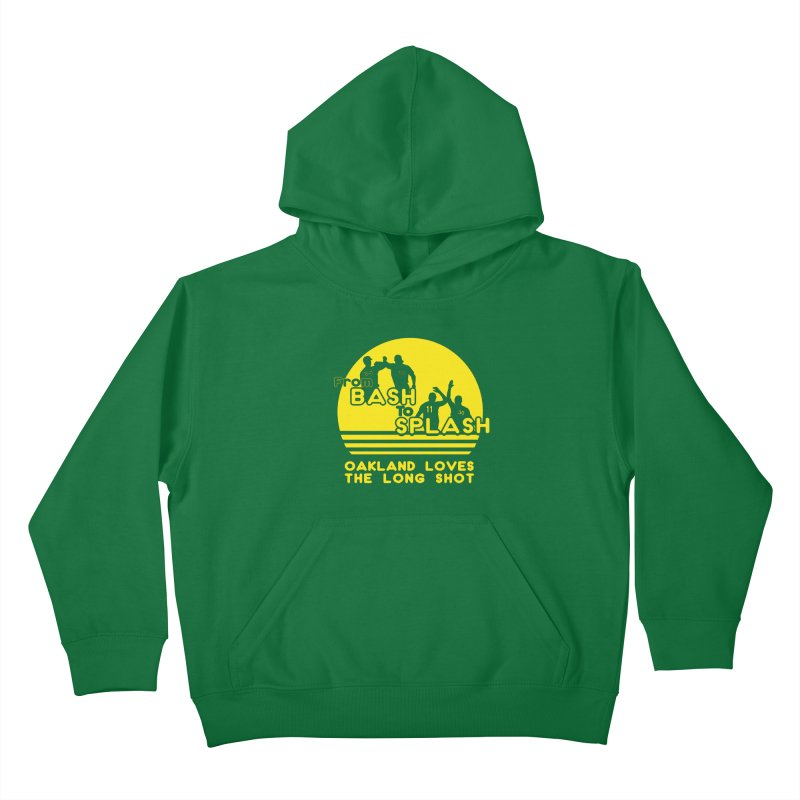 Bash 2 Splash Kids Pullover Hoody by Mike Hampton's T-Shirt Shop