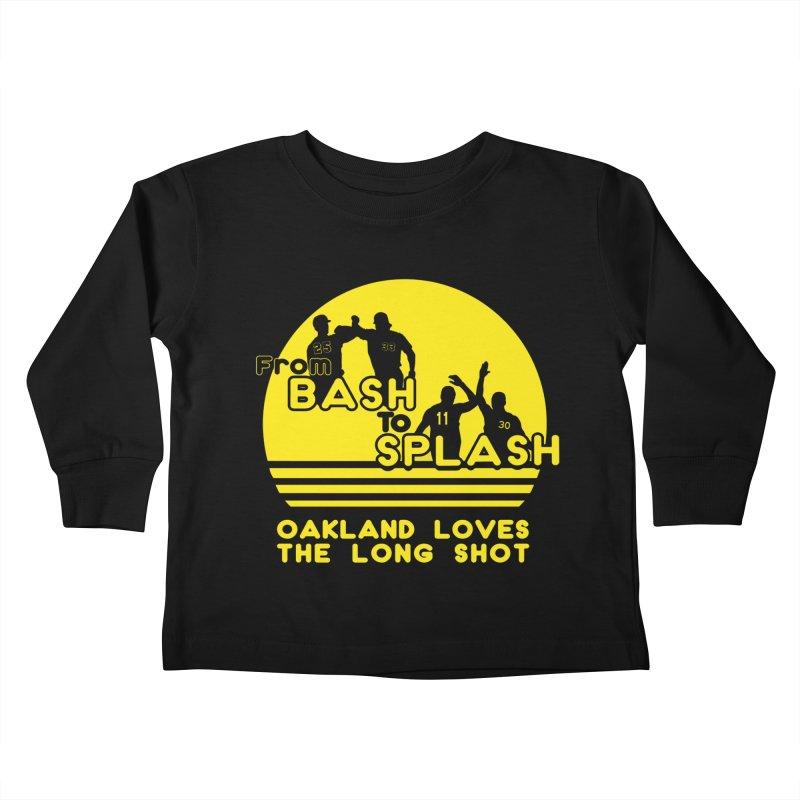 Bash 2 Splash Kids Toddler Longsleeve T-Shirt by Mike Hampton's T-Shirt Shop