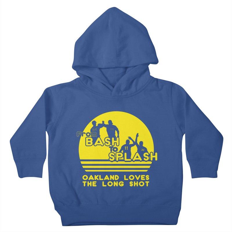 Bash 2 Splash Kids Toddler Pullover Hoody by Mike Hampton's T-Shirt Shop