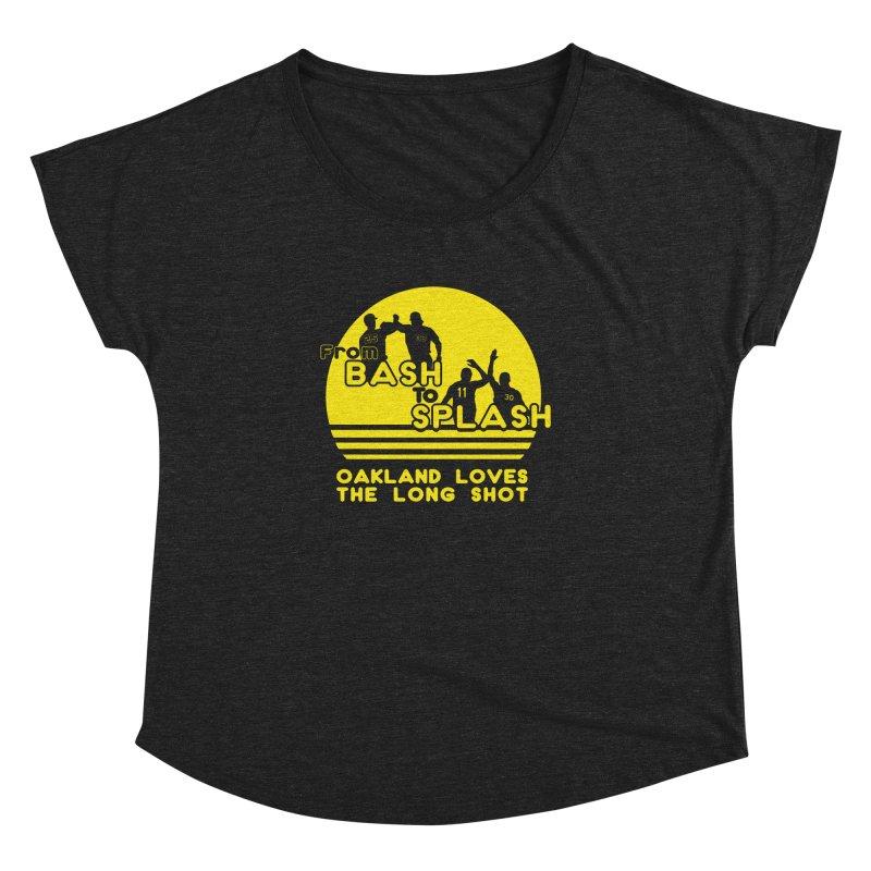 Bash 2 Splash Women's Dolman Scoop Neck by Mike Hampton's T-Shirt Shop