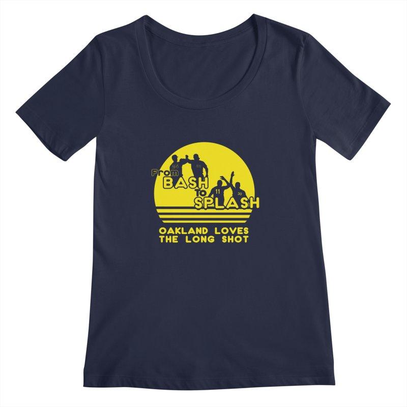 Bash 2 Splash Women's Regular Scoop Neck by Mike Hampton's T-Shirt Shop