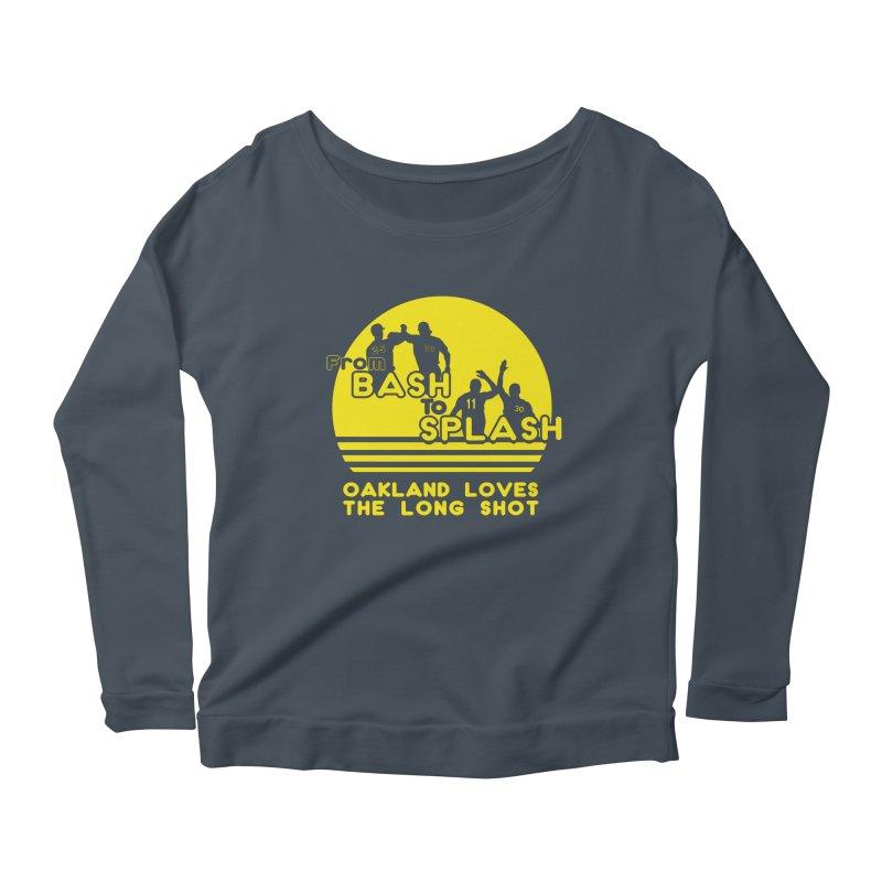 Bash 2 Splash Women's Scoop Neck Longsleeve T-Shirt by Mike Hampton's T-Shirt Shop