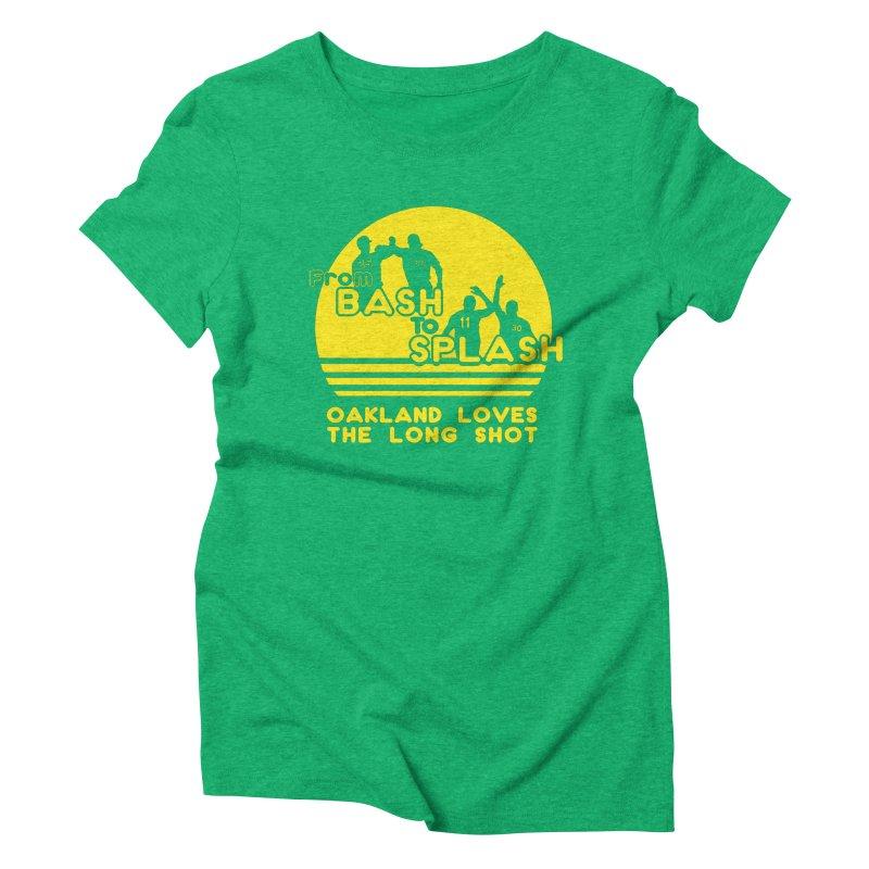 Bash 2 Splash Women's Triblend T-Shirt by Mike Hampton's T-Shirt Shop