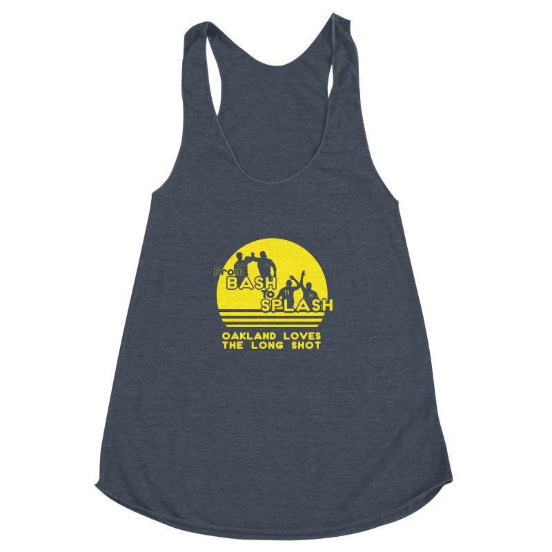 Bash 2 Splash Women's Racerback Triblend Tank by Mike Hampton's T-Shirt Shop
