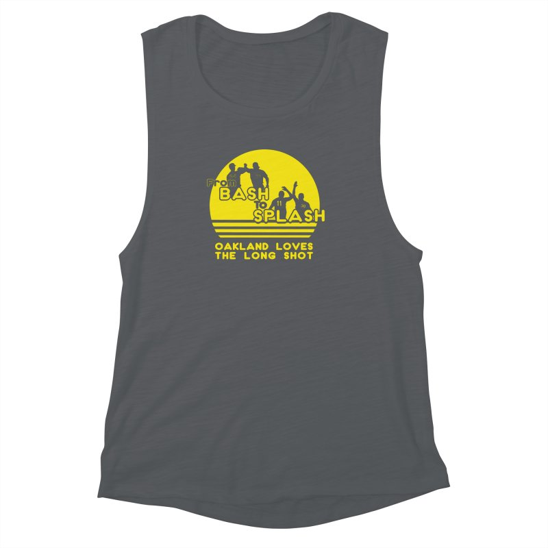 Bash 2 Splash Women's Muscle Tank by Mike Hampton's T-Shirt Shop