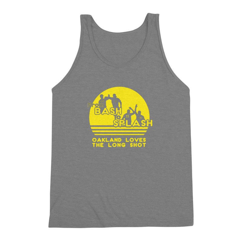 Bash 2 Splash Men's Triblend Tank by Mike Hampton's T-Shirt Shop