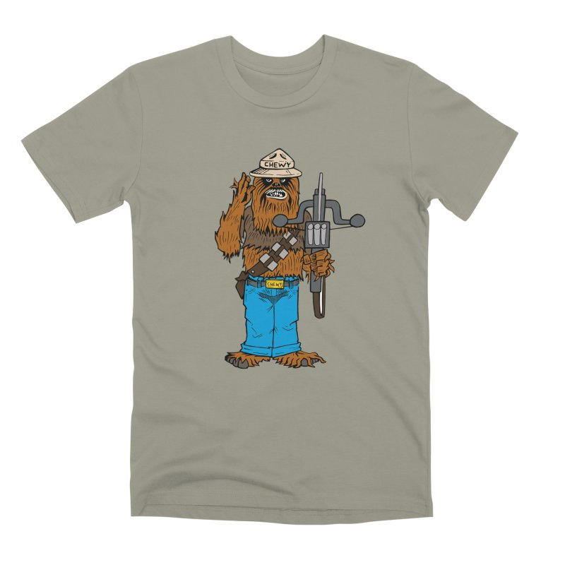 Smokey the Wookie Men's T-Shirt by Mike Hampton's T-Shirt Shop