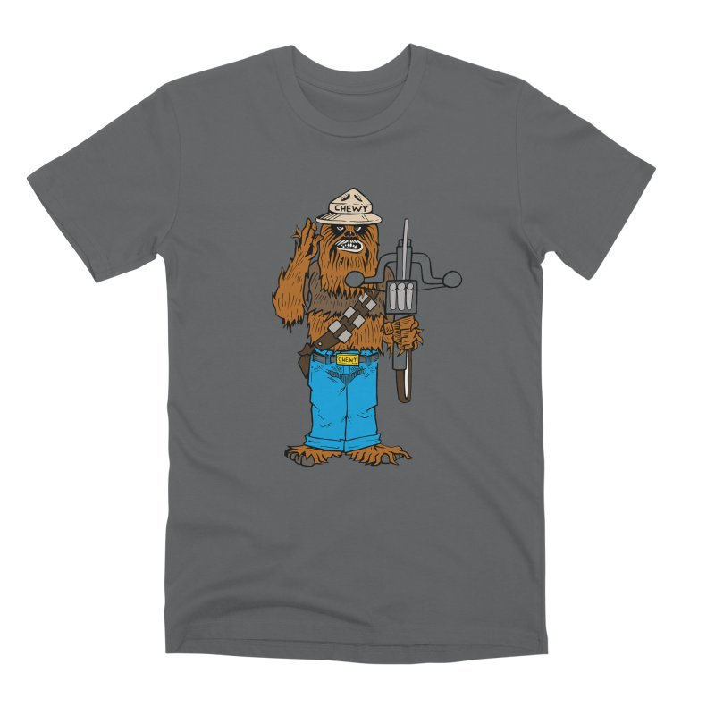 Smokey the Wookie Men's T-Shirt by Mike Hampton's T-Shirt Shop