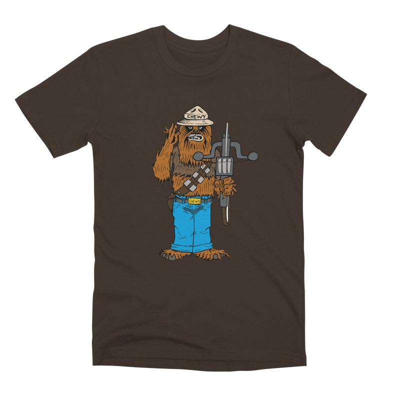 Smokey the Wookie Men's Premium T-Shirt by Mike Hampton's T-Shirt Shop