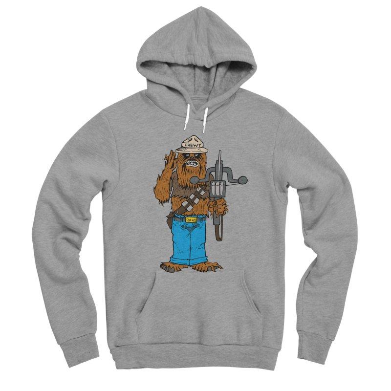 Smokey the Wookie Men's Sponge Fleece Pullover Hoody by Mike Hampton's T-Shirt Shop
