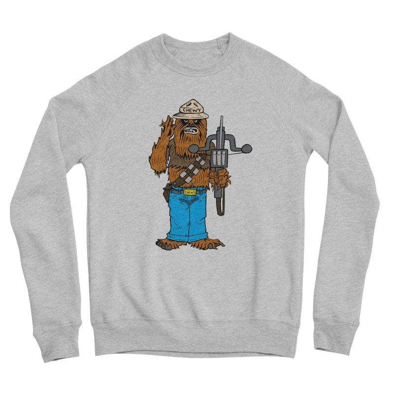 Smokey the Wookie Men's Sponge Fleece Sweatshirt by Mike Hampton's T-Shirt Shop
