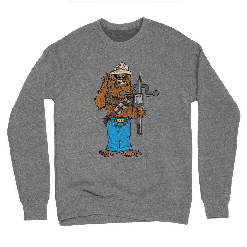 Smokey the Wookie Women's Sponge Fleece Sweatshirt by Mike Hampton's T-Shirt Shop