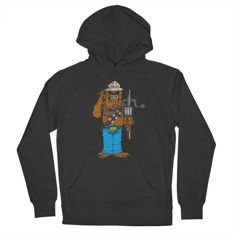 Smokey the Wookie Women's French Terry Pullover Hoody by Mike Hampton's T-Shirt Shop