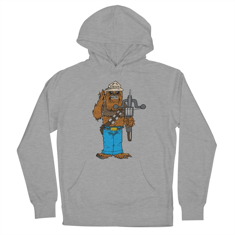 Smokey the Wookie Men's French Terry Pullover Hoody by Mike Hampton's T-Shirt Shop
