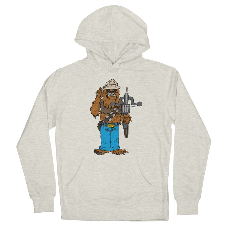 Smokey the Wookie Men's Pullover Hoody by Mike Hampton's T-Shirt Shop