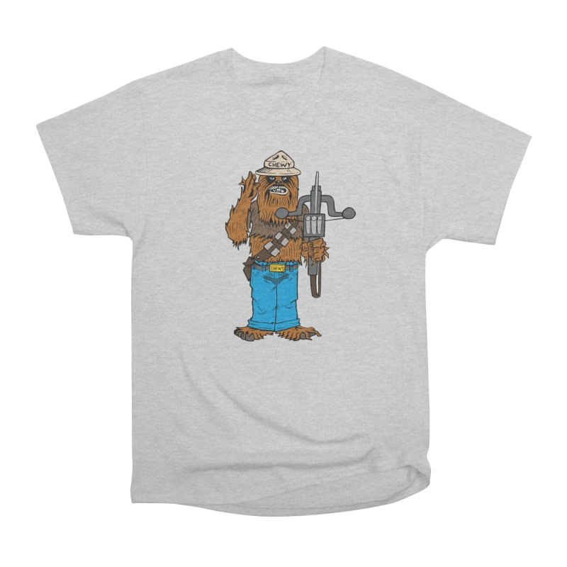 Smokey the Wookie Men's Heavyweight T-Shirt by Mike Hampton's T-Shirt Shop
