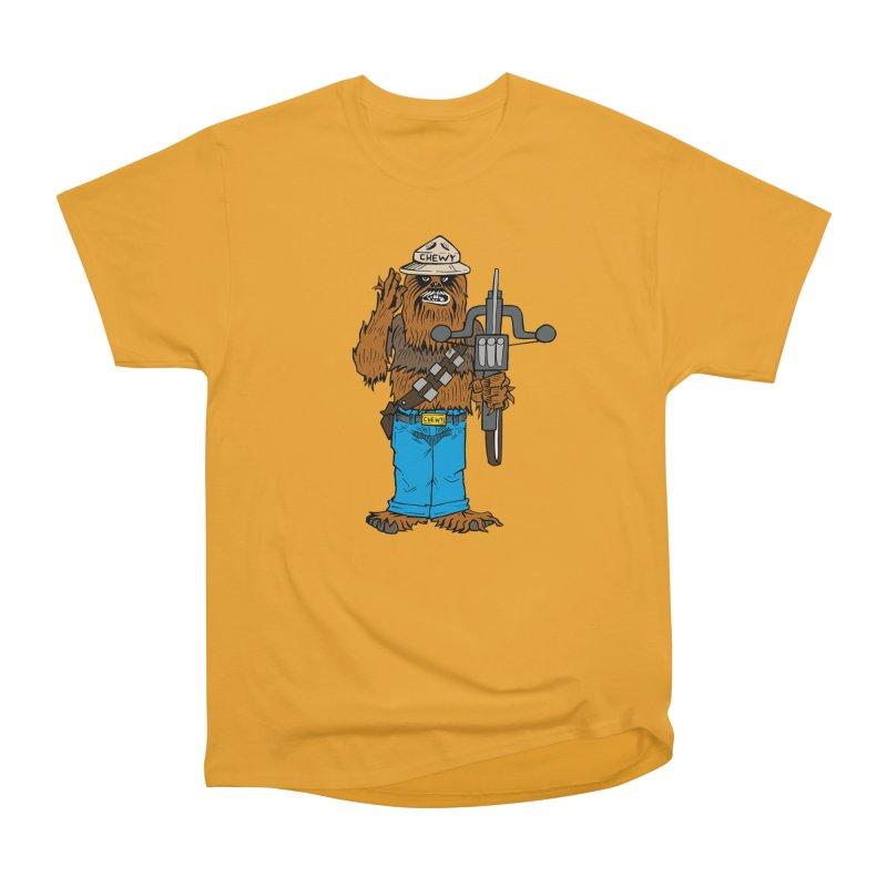 Smokey the Wookie Women's Heavyweight Unisex T-Shirt by Mike Hampton's T-Shirt Shop