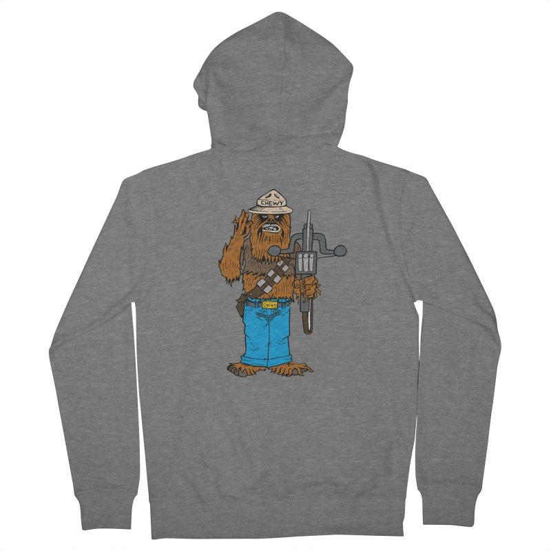 Smokey the Wookie Men's Zip-Up Hoody by Mike Hampton's T-Shirt Shop