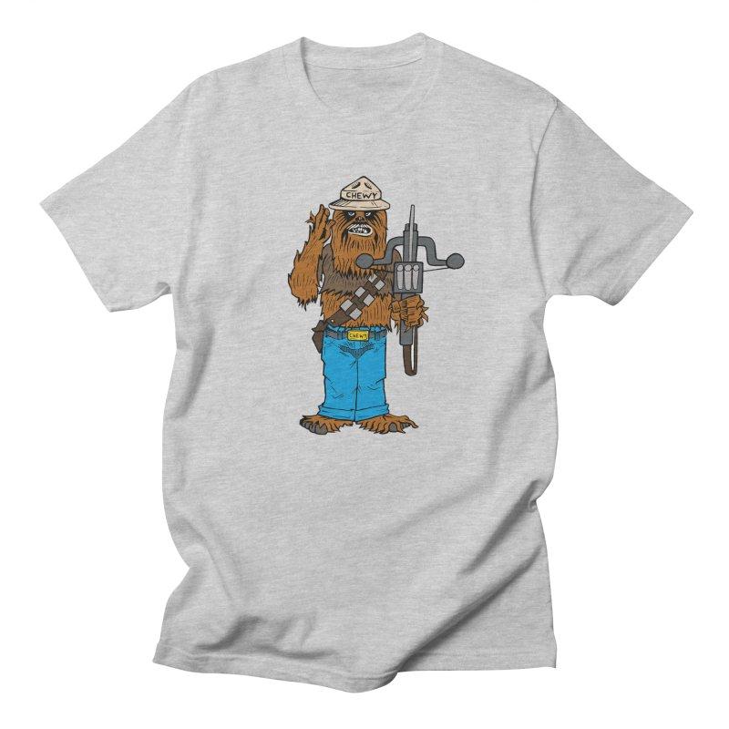 Smokey the Wookie Women's Regular Unisex T-Shirt by Mike Hampton's T-Shirt Shop
