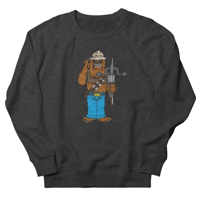 Smokey the Wookie Women's French Terry Sweatshirt by Mike Hampton's T-Shirt Shop