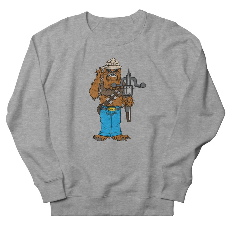 Smokey the Wookie Men's French Terry Sweatshirt by Mike Hampton's T-Shirt Shop