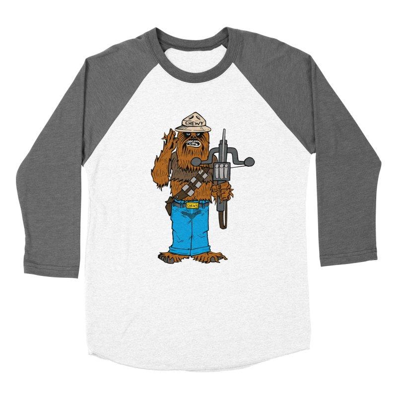 Smokey the Wookie Women's Baseball Triblend Longsleeve T-Shirt by Mike Hampton's T-Shirt Shop