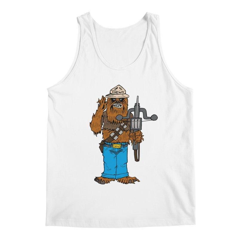 Smokey the Wookie Men's Tank by Mike Hampton's T-Shirt Shop