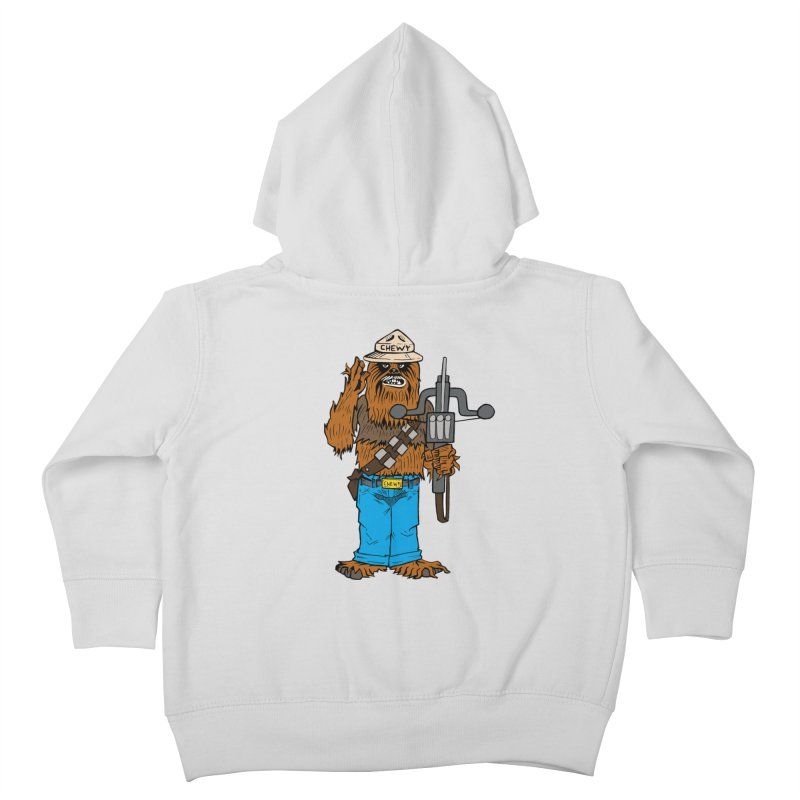 Smokey the Wookie Kids Toddler Zip-Up Hoody by Mike Hampton's T-Shirt Shop