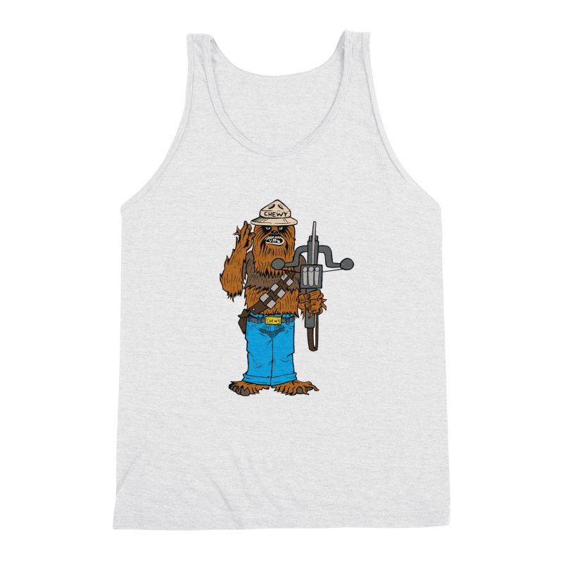 Smokey the Wookie Men's Triblend Tank by Mike Hampton's T-Shirt Shop