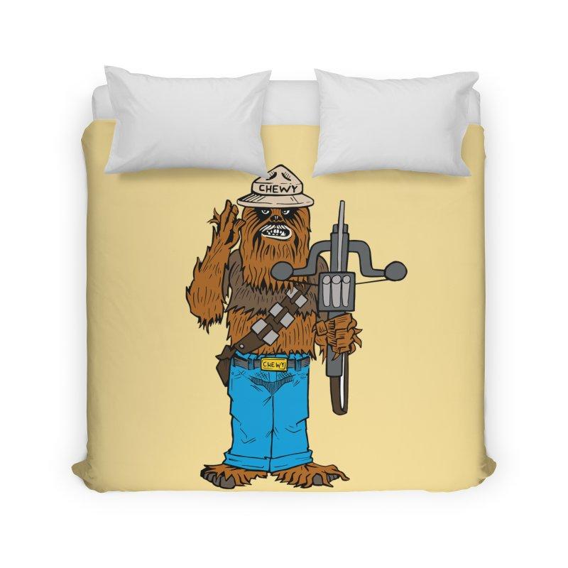 Smokey the Wookie Home Duvet by Mike Hampton's T-Shirt Shop