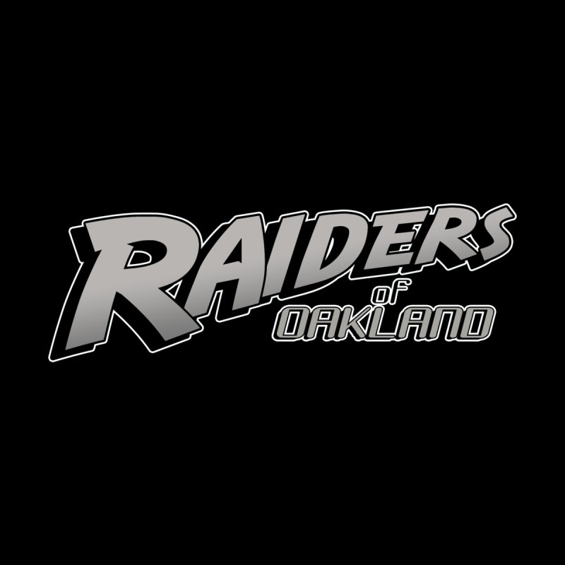 Raiders of Oakland (for now..) Accessories Sticker by Mike Hampton's T-Shirt Shop