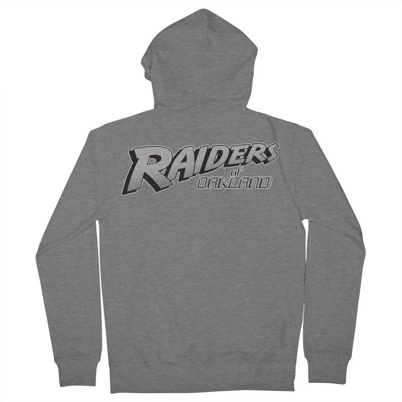 Raiders of Oakland (for now..) Women's Zip-Up Hoody by Mike Hampton's T-Shirt Shop