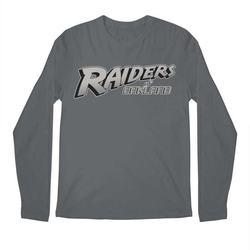Raiders of Oakland (for now..) Men's Regular Longsleeve T-Shirt by Mike Hampton's T-Shirt Shop