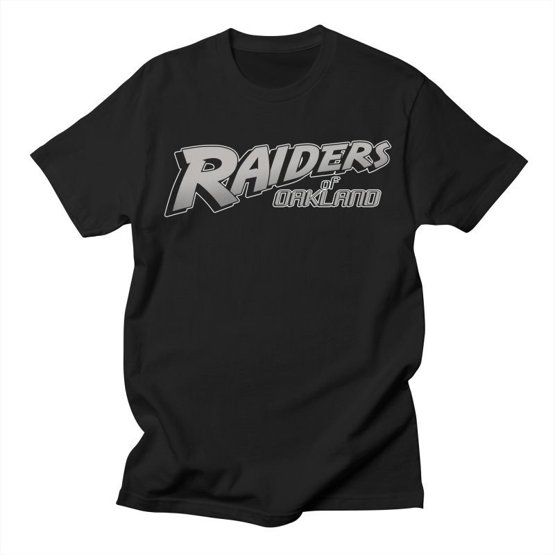 Raiders of Oakland (for now..) Men's T-Shirt by Mike Hampton's T-Shirt Shop