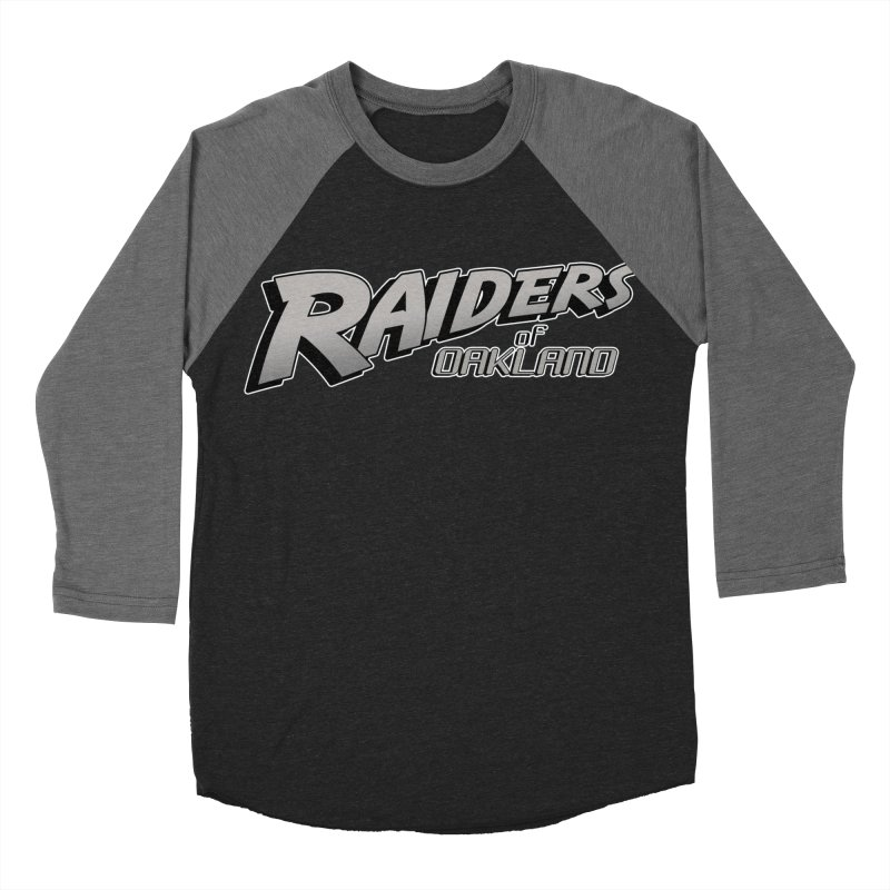 Raiders of Oakland (for now..) Women's Baseball Triblend Longsleeve T-Shirt by Mike Hampton's T-Shirt Shop