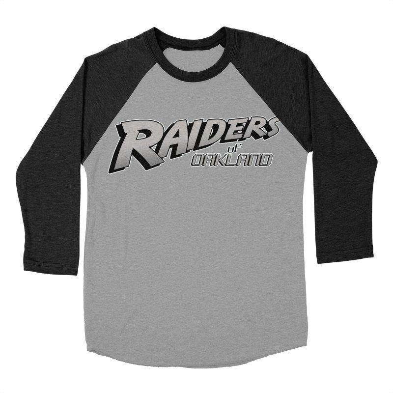 Raiders of Oakland (for now..) Men's Baseball Triblend Longsleeve T-Shirt by Mike Hampton's T-Shirt Shop