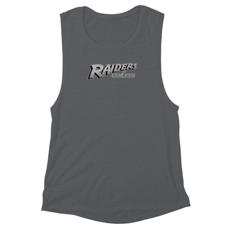 Raiders of Oakland (for now..) Women's Muscle Tank by Mike Hampton's T-Shirt Shop