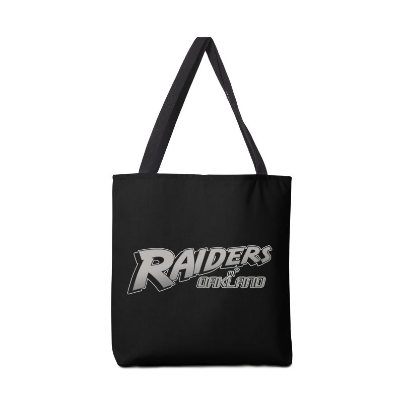 Raiders of Oakland (for now..) Accessories Bag by Mike Hampton's T-Shirt Shop