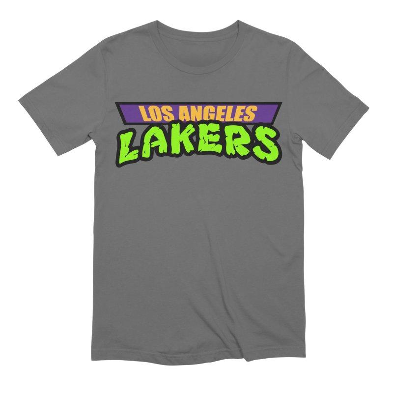 Laker Power Men's Extra Soft T-Shirt by Mike Hampton's T-Shirt Shop