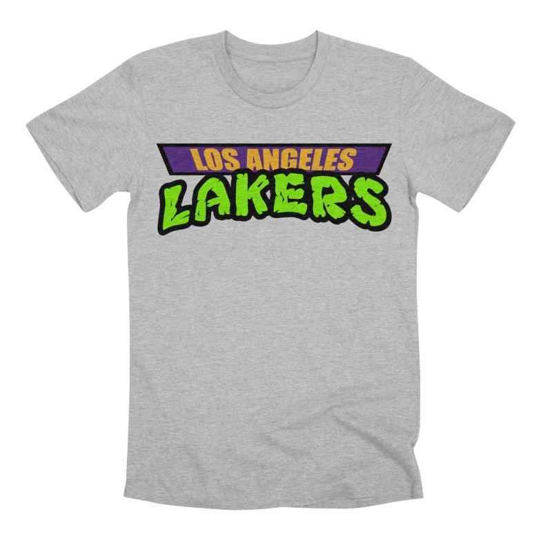 Laker Power Men's Premium T-Shirt by Mike Hampton's T-Shirt Shop