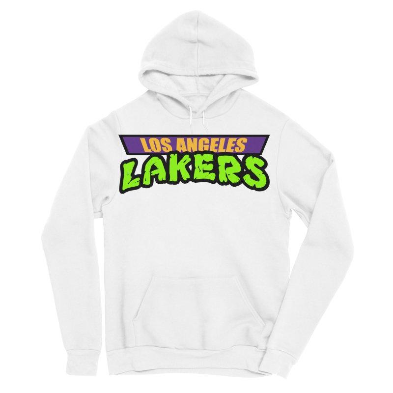 Laker Power Men's Sponge Fleece Pullover Hoody by Mike Hampton's T-Shirt Shop