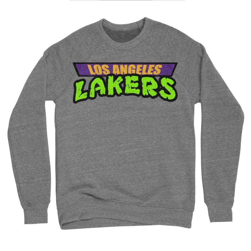 Laker Power Men's Sponge Fleece Sweatshirt by Mike Hampton's T-Shirt Shop