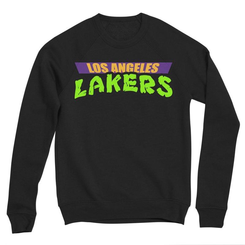 Laker Power Women's Sponge Fleece Sweatshirt by Mike Hampton's T-Shirt Shop