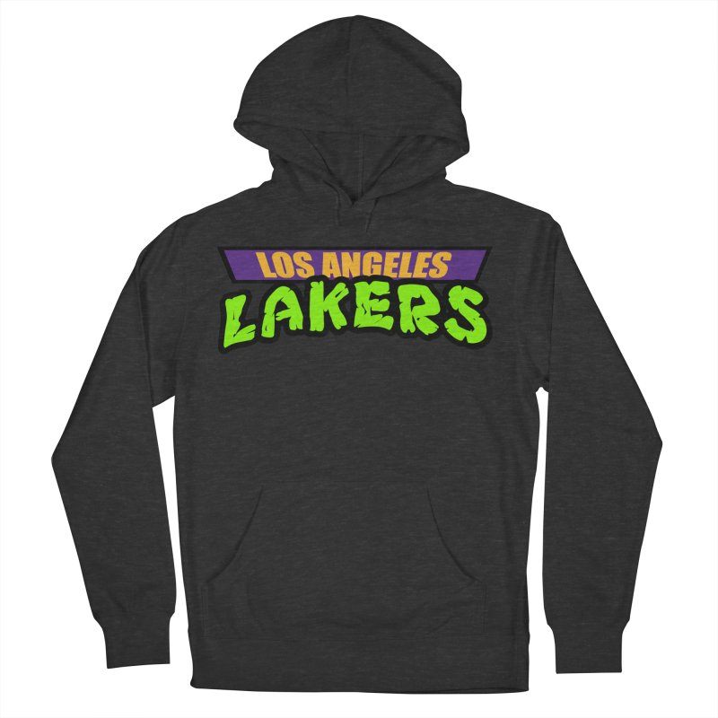 Laker Power Men's French Terry Pullover Hoody by Mike Hampton's T-Shirt Shop