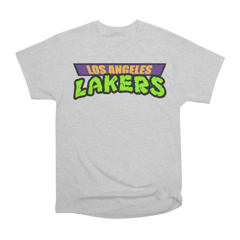 Laker Power Men's Heavyweight T-Shirt by Mike Hampton's T-Shirt Shop