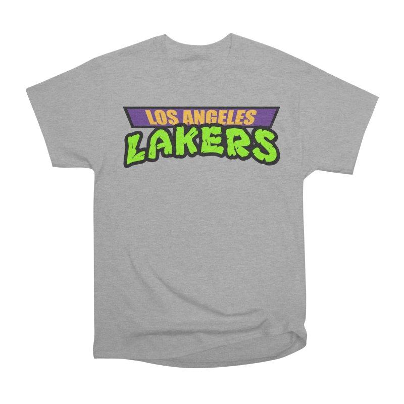 Laker Power Women's Heavyweight Unisex T-Shirt by Mike Hampton's T-Shirt Shop