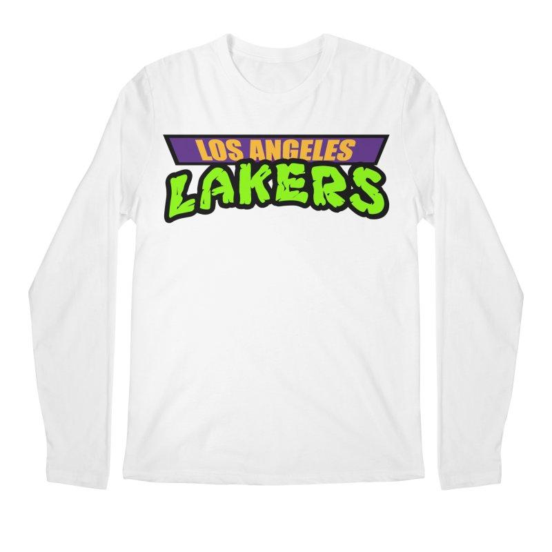 Laker Power Men's Regular Longsleeve T-Shirt by Mike Hampton's T-Shirt Shop