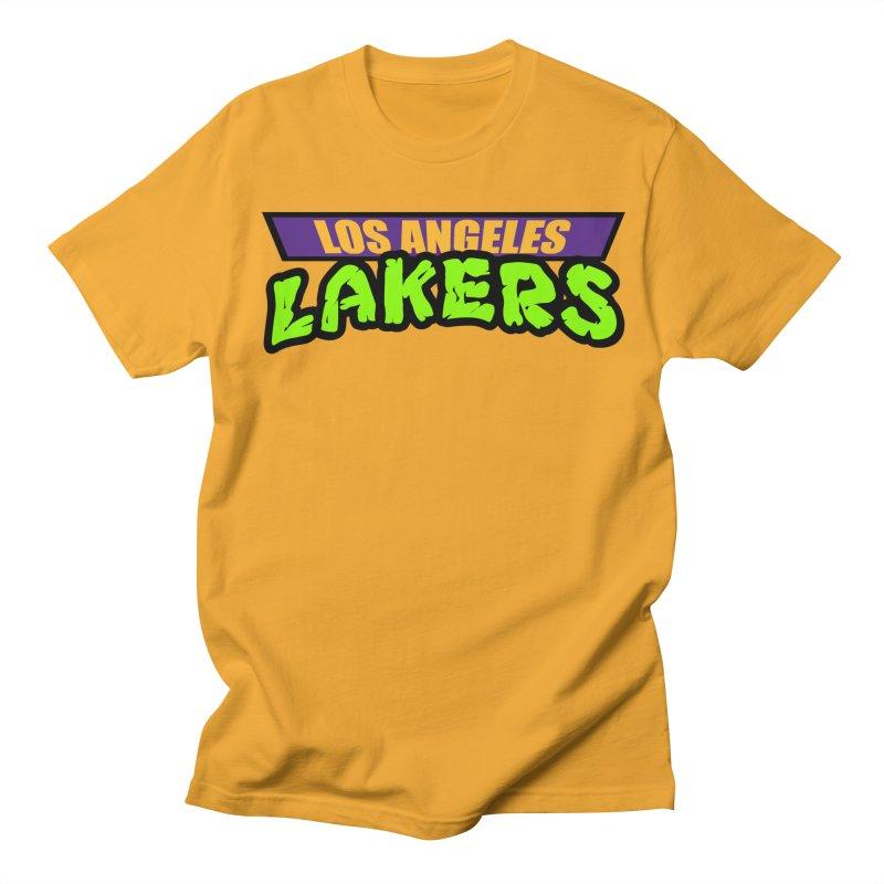 Laker Power Men's Regular T-Shirt by Mike Hampton's T-Shirt Shop